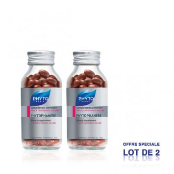 PHYTO Phytophanère Complément Alimentaire Force Croissance Volume 2x120 capsules
