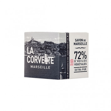 LA CORVETTE Savon de Marseille 72% Extra Pur 200g