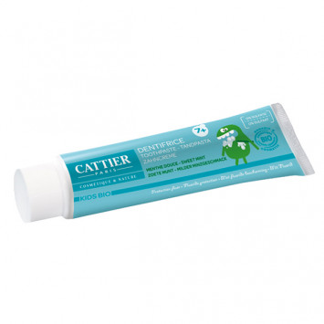 DENTIFRICE CATTIER 7 ANS + GOUT MENTHE DOUCE PROTECTION FLUOR 50ML