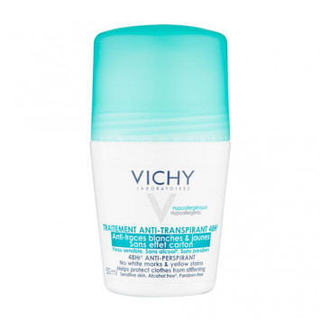 VICHY Déodorant Anti-Transpirant 48H Anti-Traces Roll-On 50ml