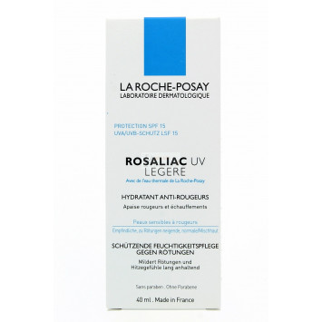 ROSALIAC UV LEGERE HYDRATANT ANTI-ROUGEURS LA ROCHE-POSAY 40ML