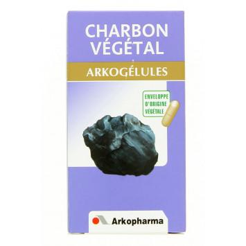 ARKOGELULES CHARBON VEGETAL ARKOPHARMA 45 GELULES