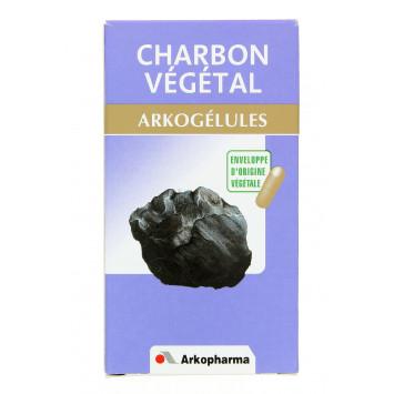 ARKOGELULES CHARBON VEGETAL ARKOPHARMA 150 GELULES