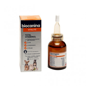 BIOCATONIC TOTAL VITAMINOL BIOCANINA CHIEN ET CHAT 30ML