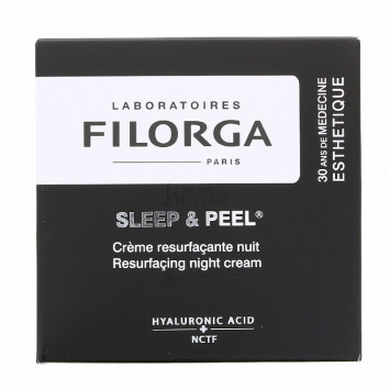 SLEEP & PEEL CREME RESURFACANTE NUIT FILORGA 50 ML