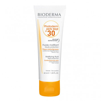 BIODERMA Photoderm AKN Mat SPF30 Fluide Matifiant 40ml