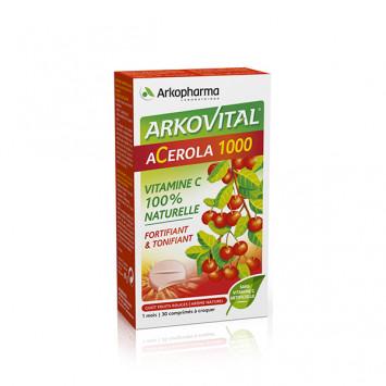 ACEROLA 1000 ARKOPHARMA X30 COMPRIMES