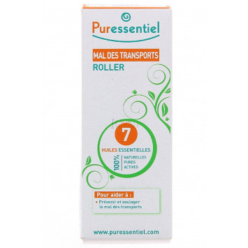 PURESSENTIEL MAL DES TRANSPORTS ROLLER 7 HUILES 5ML