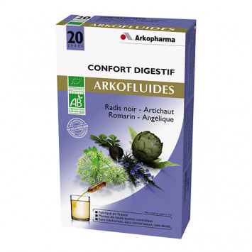 ARKOFLUIDES CONFORT DIGESTIF ARKOPHARMA 20 AMPOULES