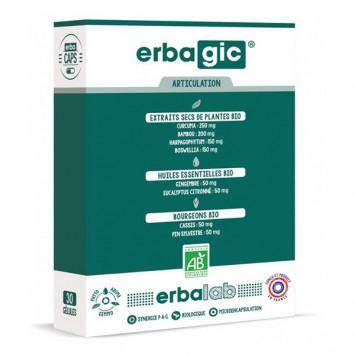 ERBALAB Erbagic 30 gélules