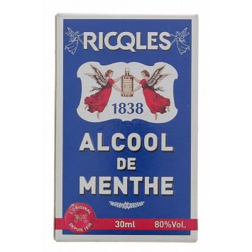 RICQLES ALCOOL DE MENTHE 30ML