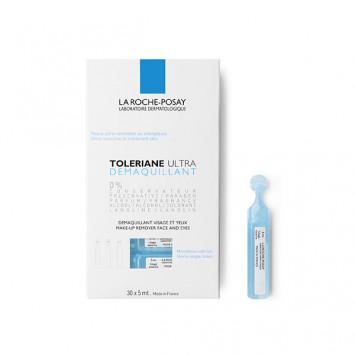 LA ROCHE-POSAY Toleriane Ultra Démaquillant Unidose 30X5ml