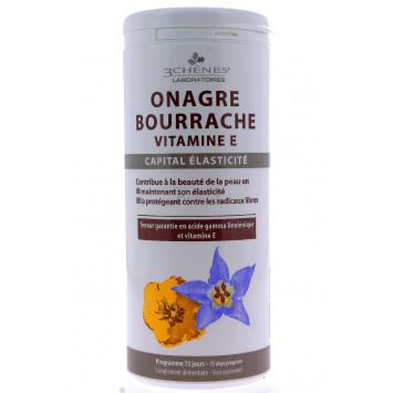 ONAGRE BOURRACHE VITAMINE E 3 CHENES 150 CAPSULES