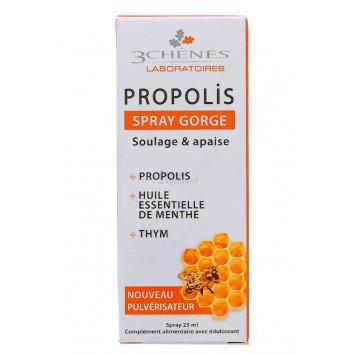 PROPOLIS SPRAY GORGE 3 CHENES 25ML