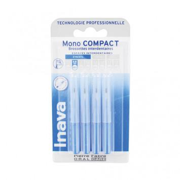 INAVA Mono Compact 0.8mm - ISO 1 (Bleu) - 4 Brossettes