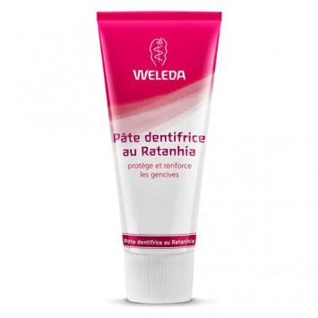 WELEDA Dentifrice au Ratanhia 75ml