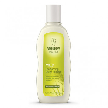 WELEDA Shampooing Millet Usage Frequent 190ml
