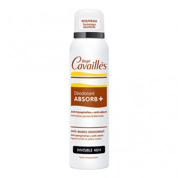 ROGE CAVAILLES Déodorant Absorb+ Anti-Transpirant Invisible 48H 150ml