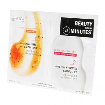NOVEXPERT Beauty Minute, Masque - 2 x 5 ml