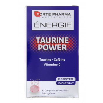 ENERGIE TAURINE POWER FORTE PHARMA 30 COMPRIMES
