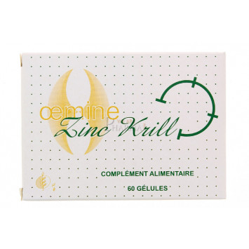 OEMINE ZINC KRILL 60 GELULES