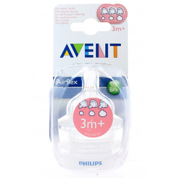 TETINE AVENT DEBIT VARIABLE x 2
