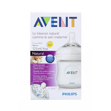 BIBERON AVENT NATURAL 125ML