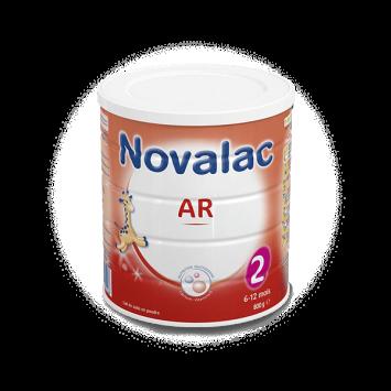 NOVALAC AR 2 Lait en Poudre 6-12 mois - 800g