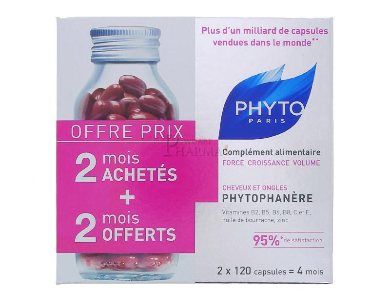 PHYTO Phytophanère Complément Alimentaire Force Croissance ...