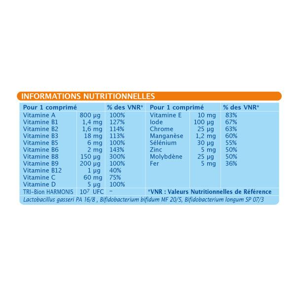 Bion3 Defense Vitamine D Zinc 90 Comprimes