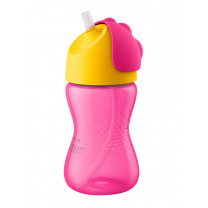 Avent Tasse Paille 300Ml Rose