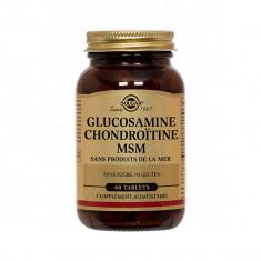 SOLGAR Glucosamine Chondroïtine Msm 60 comprimés
