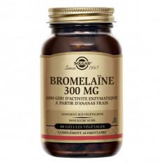 SOLGAR Bromelaine 300mg - 60 comprimés