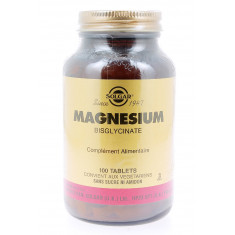 MAGNESIUM BISGLYCINATE SOLGAR 100 COMPRIMES