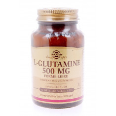 L-GLUTAMINE 500 MG FORME LIBRE SOLGAR 50 GELULES