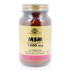 MSM 100 MG SOLGAR 60 COMPRIMES