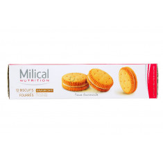 MILICAL NUTRITION BISCUITS FOURRES CAFE x 12