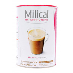 MILICAL HYPERPROTEINE BOISSONS MINCEUR CAPPUCCINO x 18