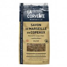 LA CORVETTE Savon de Marseille Olive en Copeaux 750g