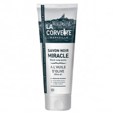 LA CORVETTE Savon Noir Miracle à l'Huile d'Olive 250ml
