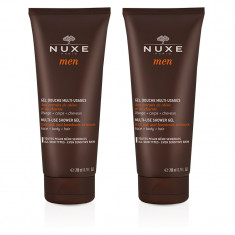 NUXE MEN GEL DOUCHE MULTI-USAGES 2 x 200ML