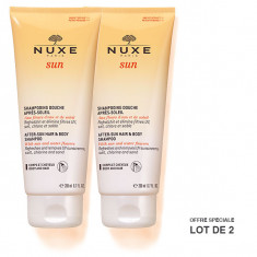 NUXE Sun Shampoing Douche Après-Soleil 2x200ml