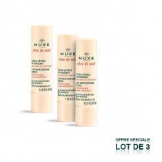 NUXE Rêve de Miel Stick Lèvres Hydratant Lot de 3 x 4 g
