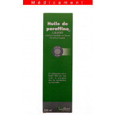 HUILE DE PARAFFINE GILBERT, solution buvable en flacon – 500ML