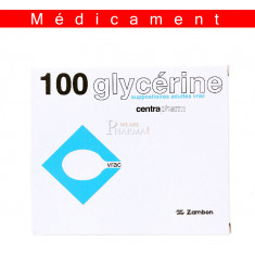 SUPPOSITOIRE A LA GLYCERINE CENTRAPHARM ADULTES, suppositoire en vrac – 100 suppositoires