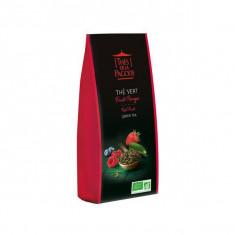 THES DE LA PAGODE - Thé Vert Fruits Rouges BIO - 100g