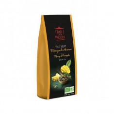 THES DE LA PAGODE - Thé Vert Mangue Ananas BIO - 100g