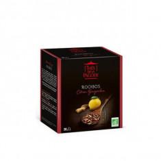 THES DE LA PAGODE - Rooibos Citron Gingembre BIO - 20 sachets
