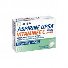 ASPIRINE UPSA Vitaminéé C, comprimé effervescent – 20 comprimés