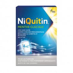 Gommes à mâcher NiQuitin® Menthe Glaciale 4 mg